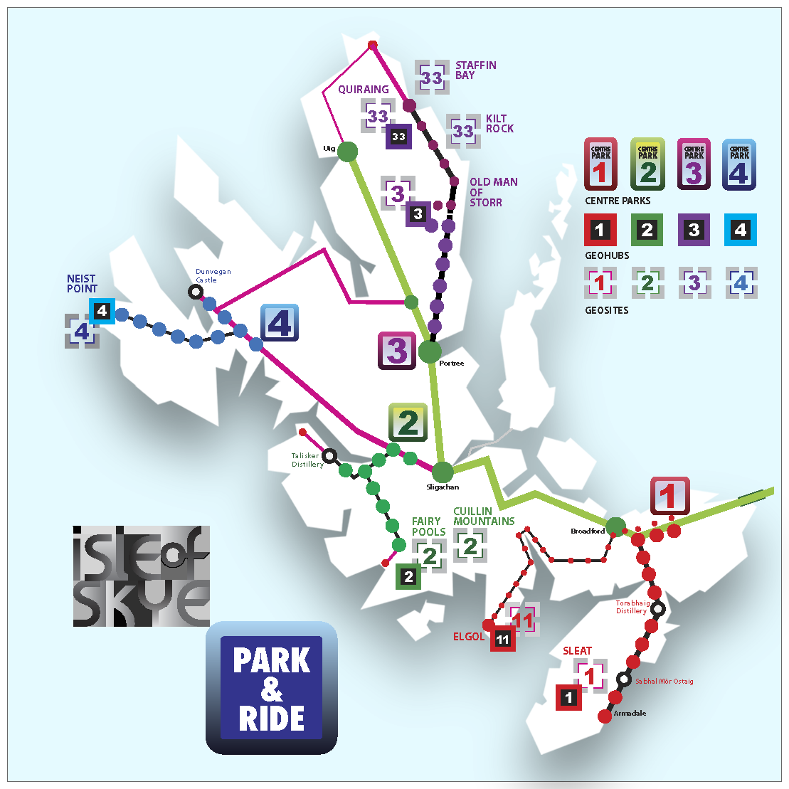 Geo-park and ride scheme proposed